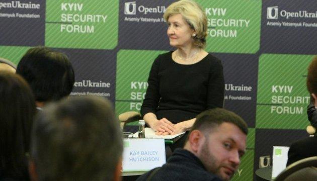 США будут рады членству Украины в НАТО - постпред Хатчисон