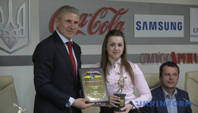 Біатлоністка Варвинець та гімнаст Радівілов отримали нагороди НОК