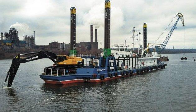Флот АМПУ торік подвоїв обсяги робіт з днопоглиблення