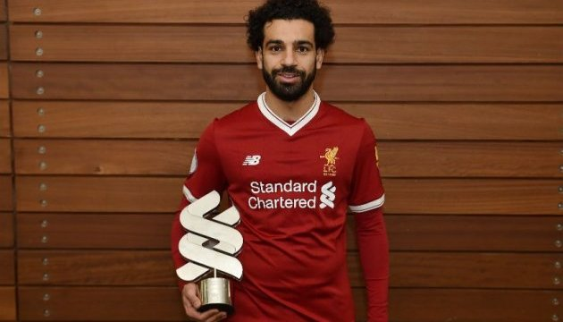 Єгиптянин Салах ушосте в сезоні став футболістом місяця в