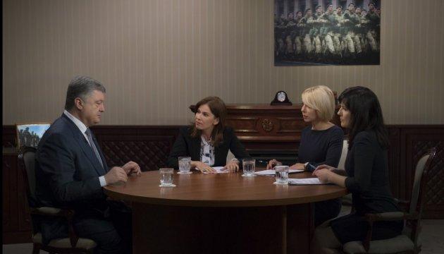 Президент - про санкції проти РФ:  Коли санкції глобальні – вони є ефективні