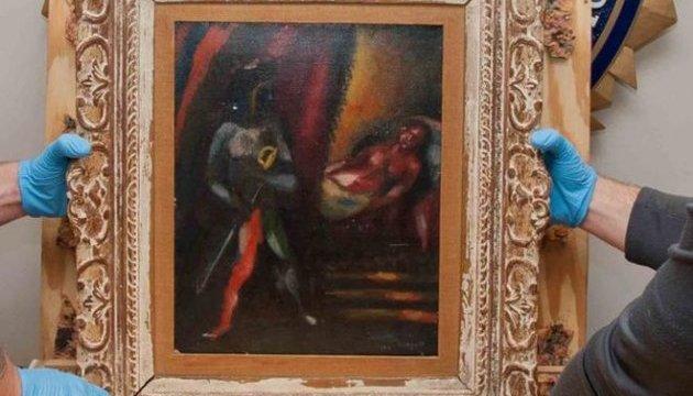 Похищенную в США 30 лет назад картину Шагала вернут владельцам
