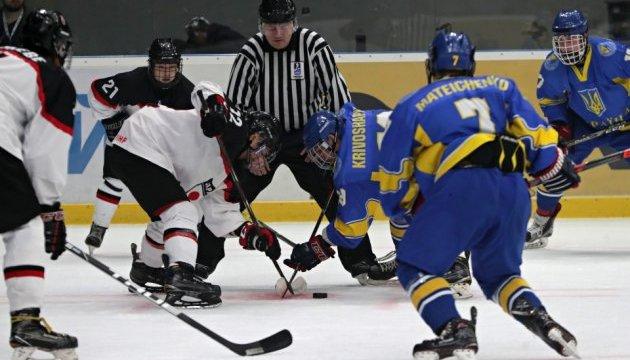 Збірна України з хокею (U18) програла Японії на старті чемпіонату світу у Києві