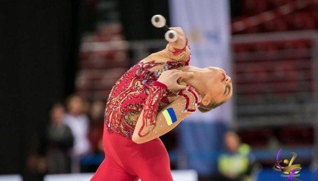 Українська гімнастка здобула