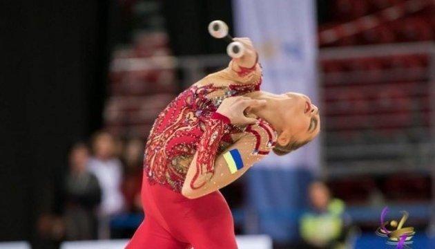 La gimnasta ucraniana Nikolchenko gana plata en la Copa del Mundo en Pesaro
