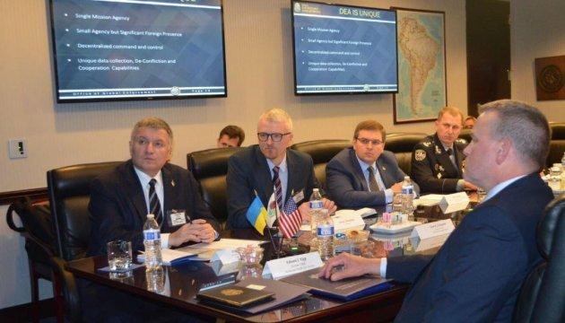 Ukraine, U.S. sign memorandum on cooperation in combating drugs, cybercrime