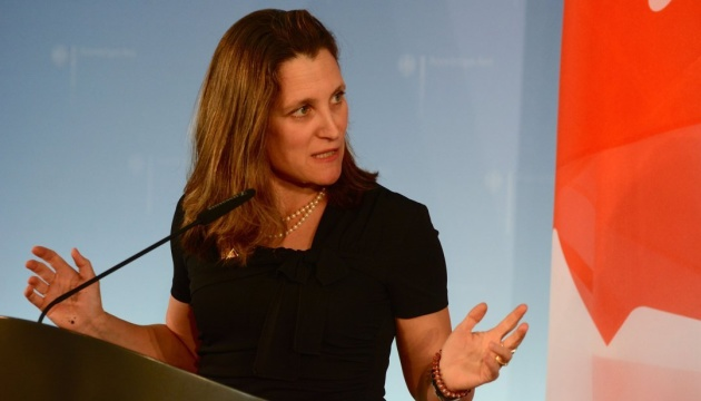 G7 members to support Ukraine - Freeland