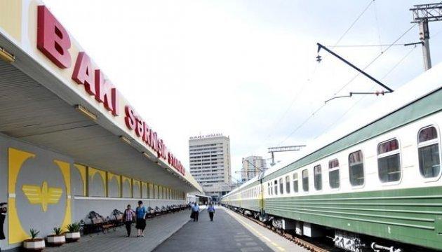 Ukrzaliznytsia lanza el servicio de tren entre Kyiv y Bakú