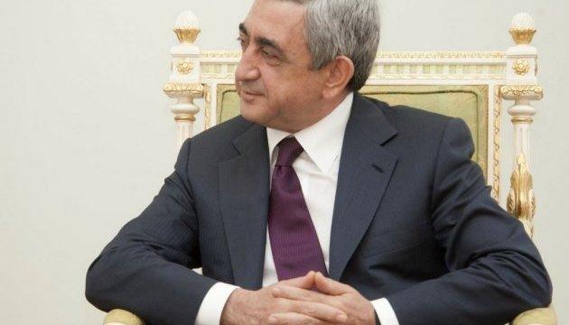 Саргсян готовий поступитися постом прем'єра Вірменії після вирішення проблем