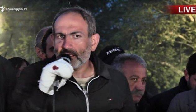 У прем'єри Вірменії висунули кандидатуру Пашиняна