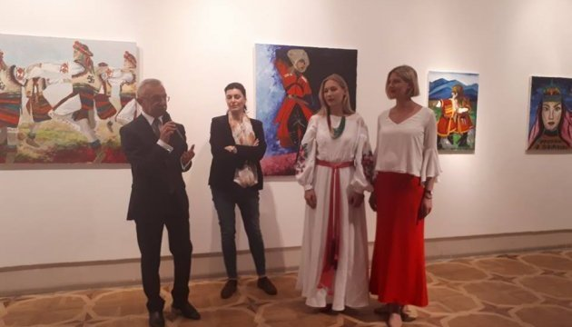 Exhibition of paintings and photos by Ukrainian artists opens in Tbilisi