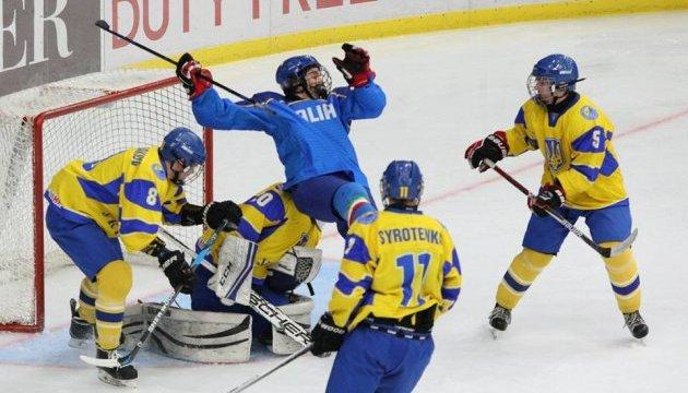Юниорская сборная Украины победила итальянцев на первенстве мира по хоккею в Киеве