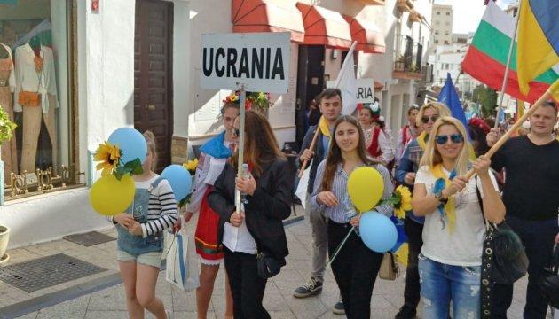 Le folklore ukrainien au festival « Europealia » en Espagne