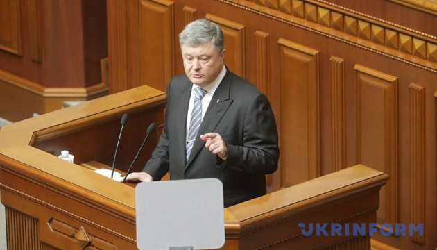 Poroshenko tells about 'vaccine' against Russian propaganda in occupied territories