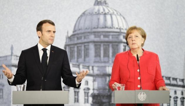 Меркель и Макрон требуют освободить украинских моряков до Нового года