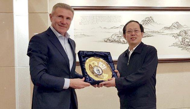 Бубка та президент НОК Китаю обговорили питання співробітництва на шляху до Пекіна-2022