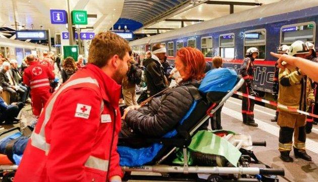 В Австрії потяг зіткнувся з автобусом