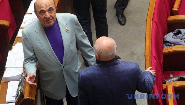 Рабінович відмовився виступати в Нацраді українською, що призвело до конфлікту