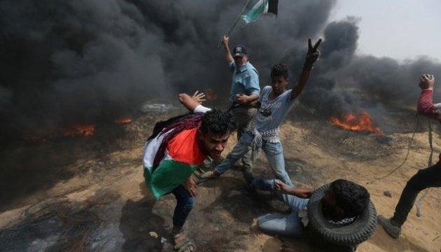 Новые столкновения на границе сектора Газа: 4 погибших, более 150 раненых