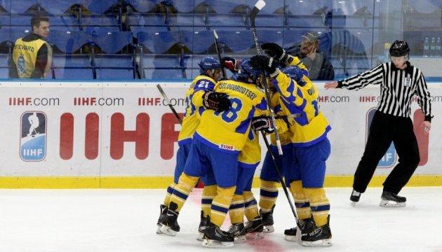 Юниорская сборная Украины выиграла домашний чемпионат мира по хоккею