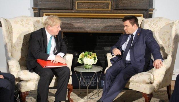 Україна і Британія розширять співпрацю – Клімкін