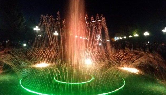У Рівному з'явився співочий фонтан