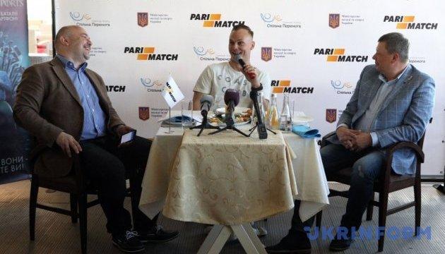 ТМ Parimatch підтримала олімпійського чемпіона Олександра Абраменка на 500 тис. грн