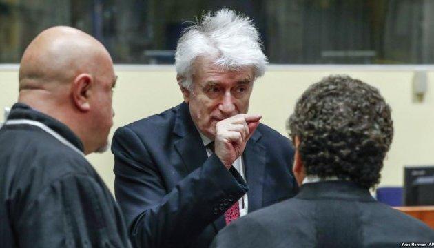 Британия согласилась перевести осужденного за геноцид Караджича в свою тюрьму
