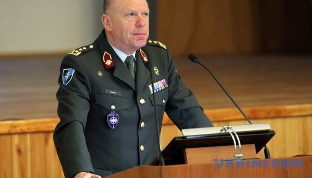 NATO general points to four components of Ukraine's armed forces reform