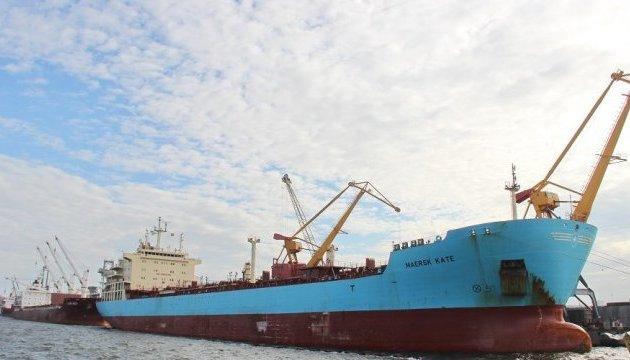Морской терминал Николаева отправил на экспорт первый танкер с растительным маслом