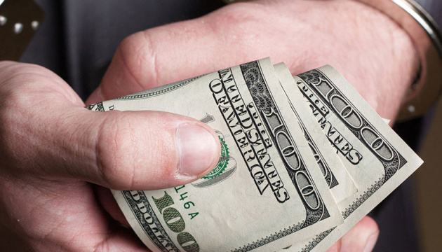 Начальник департаменту ДФС попався на хабарі в $20 тисяч