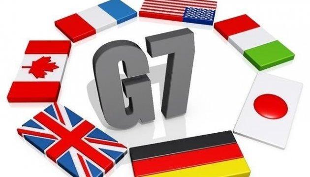 G7 praises Ukraine for decentralization, economic reforms