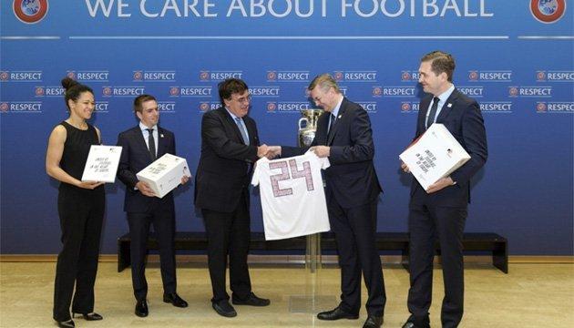 Німеччина офіційно подала заявку на проведення футбольного Євро-2024