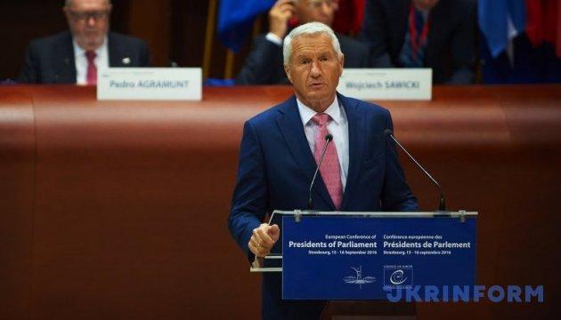 Ягланд обеспокоен судьбой россиян в случае выхода РФ из Совета Европы