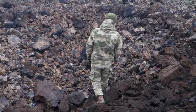 Am 9. Mai im Donbass ein ukrainischer Soldat getötet