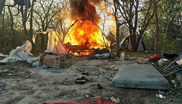 La police s'est justifiée face aux polémiques liées à la destruction d'un camp de Roms à Kyiv