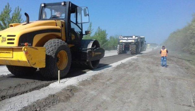 GO Highway: на трасі М-12 в Уманському районі почали ремонт
