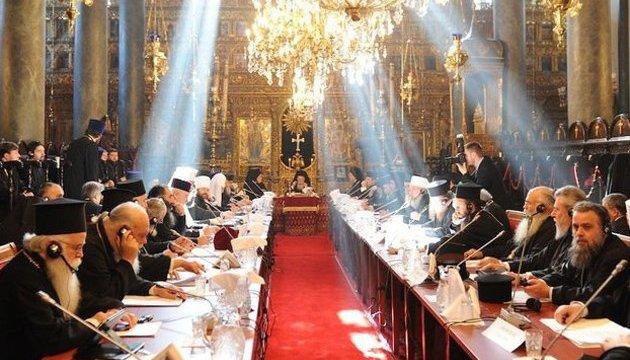 Синод Вселенського патріархату розпочався у Стамбулі