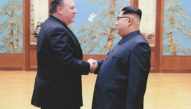 Белый дом официально выложил подтверждение секретной встречи Помпео и Ким Чен Ына