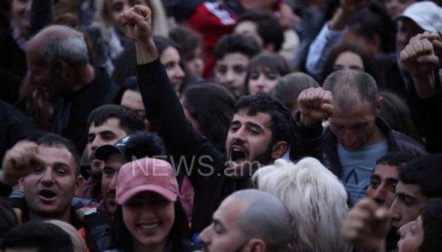 Ще в одному місті Вірменії почався мітинг