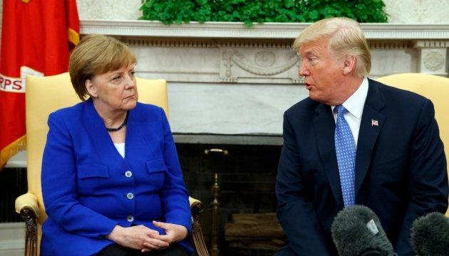 Merkel tras reunirse con Trump: Hemos hablado sobre Ucrania