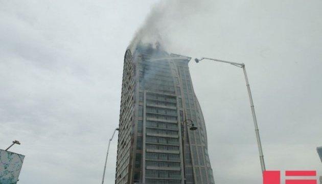 Пожежу в Trump Tower у Баку загасили