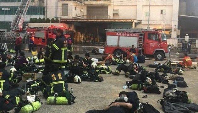 На Тайване во время пожара на фабрике погибли пятеро пожарных