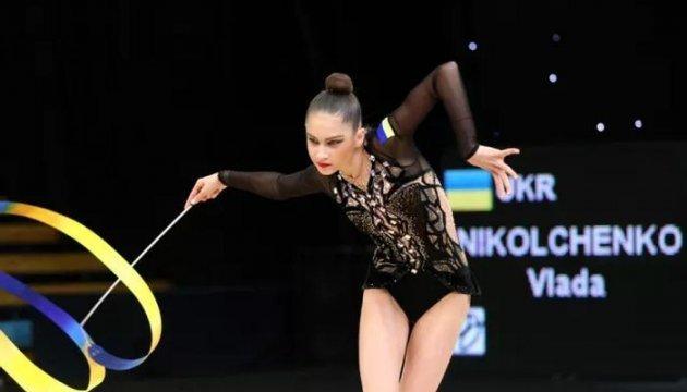 Художня гімнастика: Українка Влада Никольченко виграла «срібло» на етапі Кубка світу