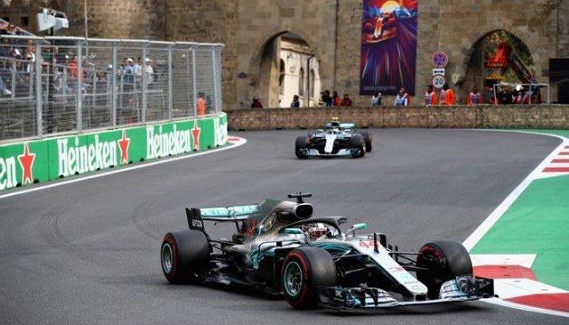 Формула-1: Гемілтон виграв Гран-прі Азербайджану