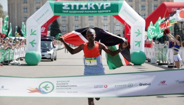 В Харькове на международном марафоне кенийский бегун установил рекорд