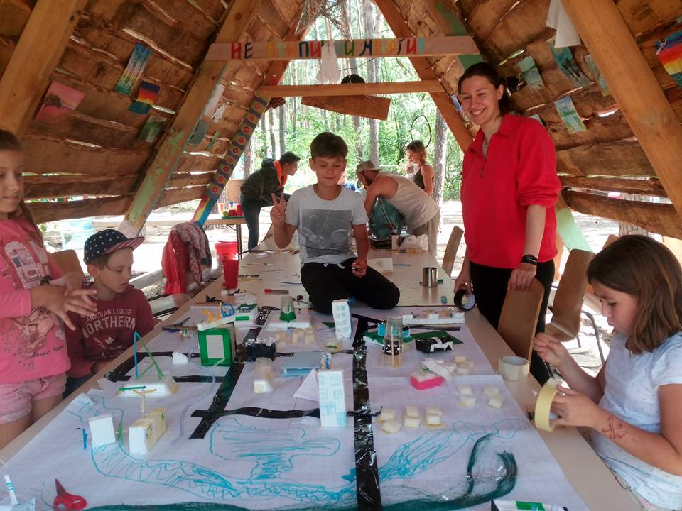 """Дитячий наметовий табір """"Територія вільної творчості"""""""