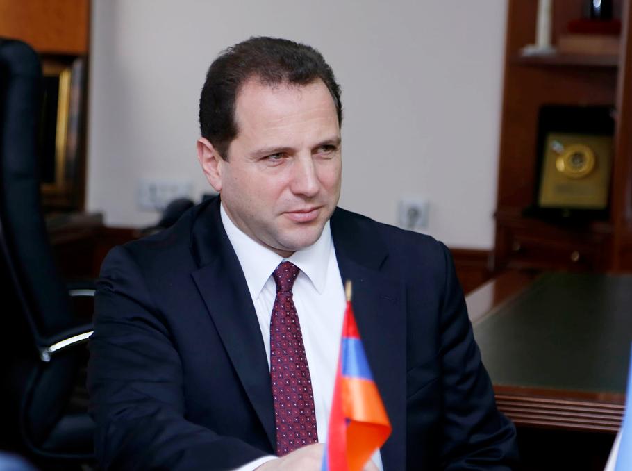 Давид Тоноян, міністр оборони Вірменії