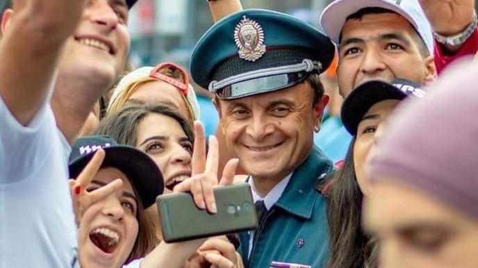 Валерій Осіпян, начальник поліції Вірменії
