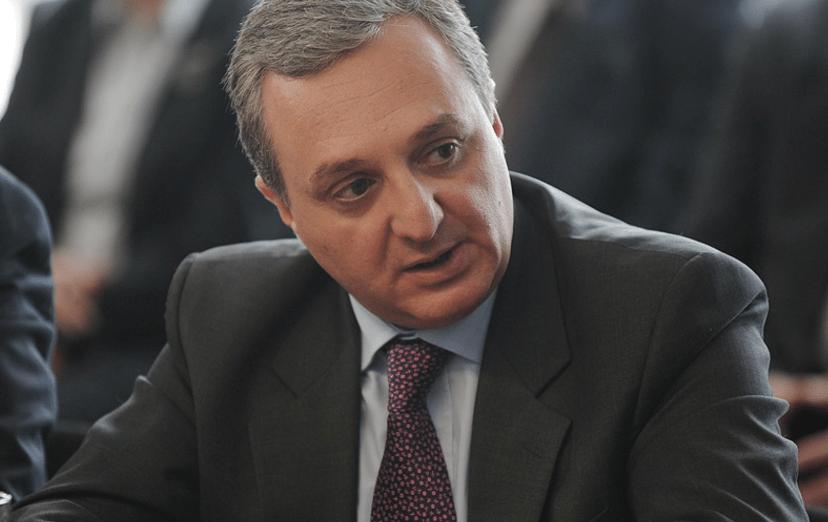 Зограб Мнацаканян, міністр закордонних справ Вірменії